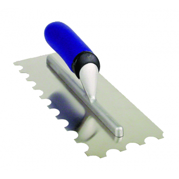 Vitrex Adhesive Trowel 10mm Square Notched Stainless Steel 280mm x 115mm 102909